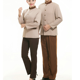 Wholesale High Quality Food Service Restaurant Hotel Worker Overalls long Sleeve Kitchen Waiter Uniforms