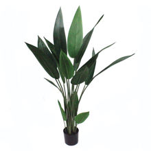 Home make Indoor Fake Bird of Paradise Decoration Plant Plastic Traveler Artificial Banana Tree