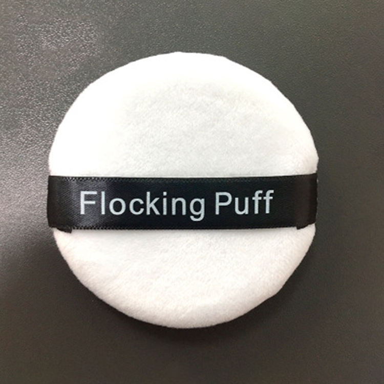 Custom flocking puff Air Cushion BB Cream Puff Makeup Foundation Sponge Facial Smooth Cosmetic Powder Puff