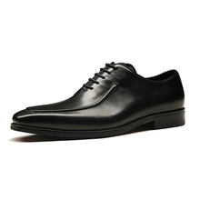 High quality oxford dress shoes leather party wedding Derby oxford shoes men