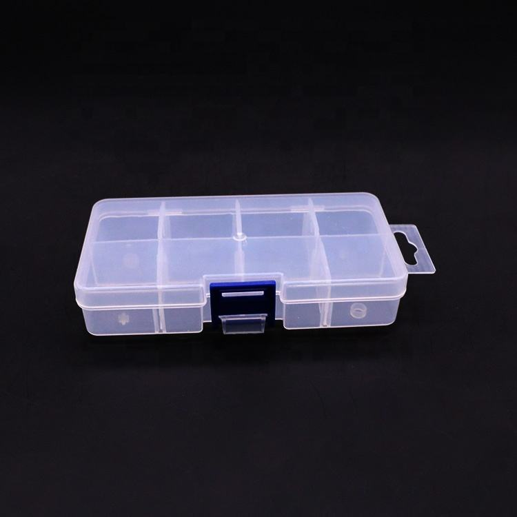 Wholesale personalized earring plastic clear jewelry box for earings