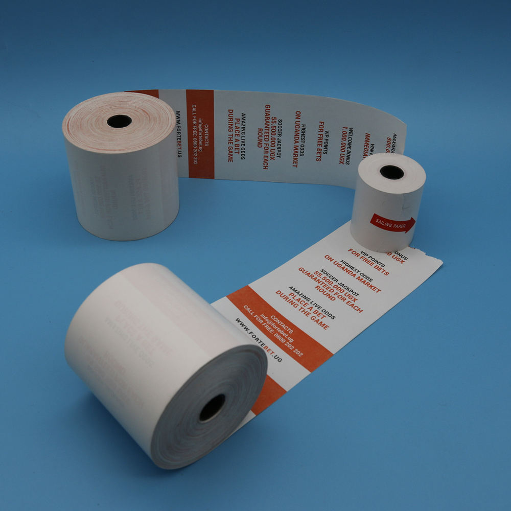 Cash Register Receipt thermal paper rolls 80mm thermal paper manufacturer thermal paper for POS/ATM