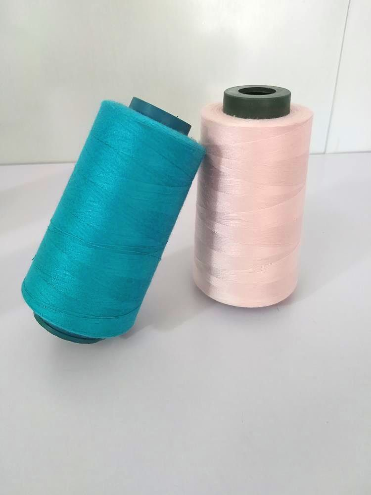Best black sewing thread manufacturer 40s / 2 polyester sewing thread
