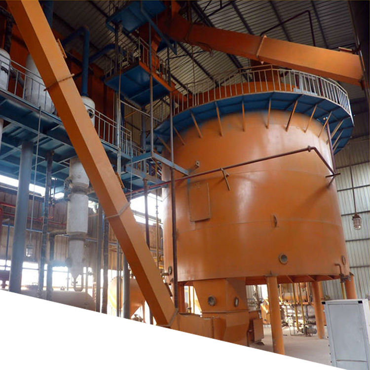 10-300tpd soya bean/rice bran/corn germ oil solvent extraction plant