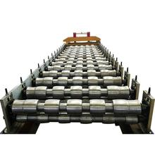 Hot selling trapezoidal wall & roof cladding sheet forming machine steel roller coil single head uncoiler Low Price