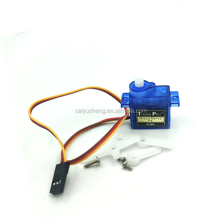 Steering Fixed Wing Helicopter Remote Control Aircraft 9g 1.6kg mini Servo Motor SG90