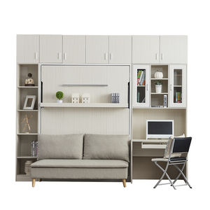New arrival wholesale furniture bedroom furniture foldable murphy wall bed with sofa