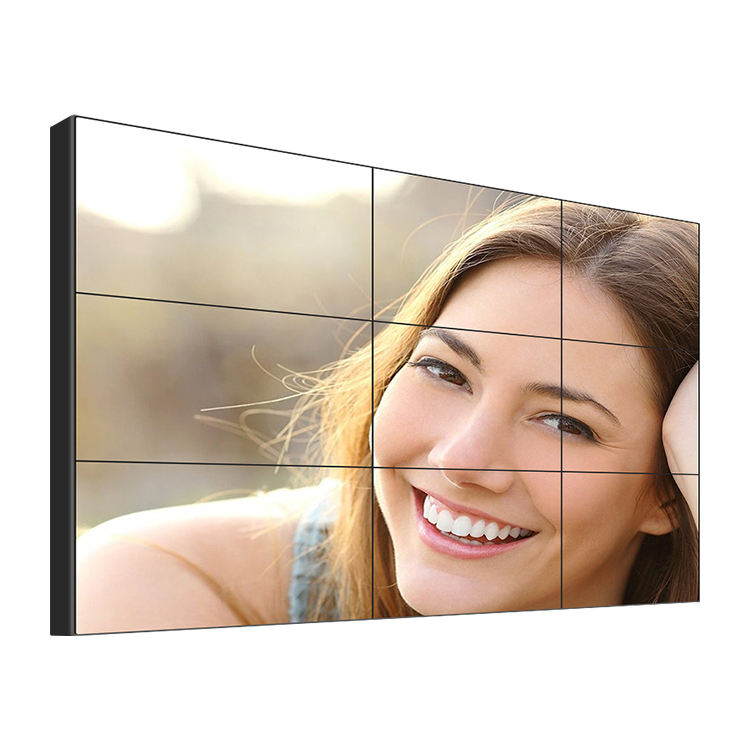 Colorful HD 55 inch 1080p lcd video narrow bezel video tv video wall