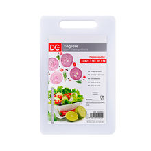 Hot Product Rectangle Kitchenware Plastic White Cutting Board