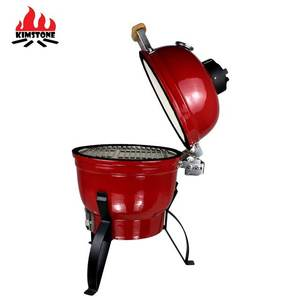 13inch stone cast bbq garden pizza outdoor japanese hibachi China Manufacturing Ceramic Mini Green charcoal BBQ Grill Kamado