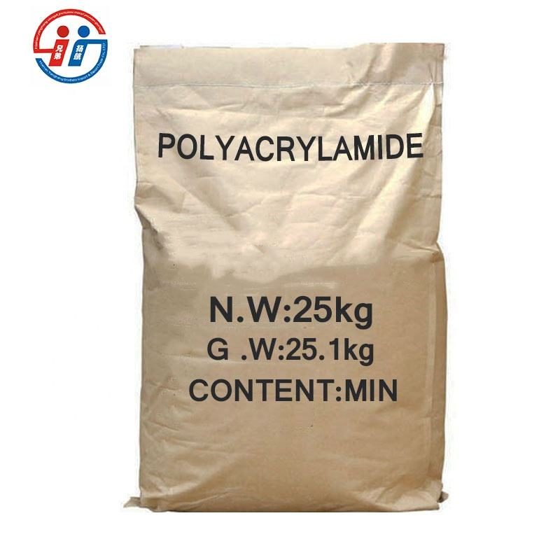 APAM anionic Polyacrylamide pam chemical flocculant With White Powder For Waste Water Treatment