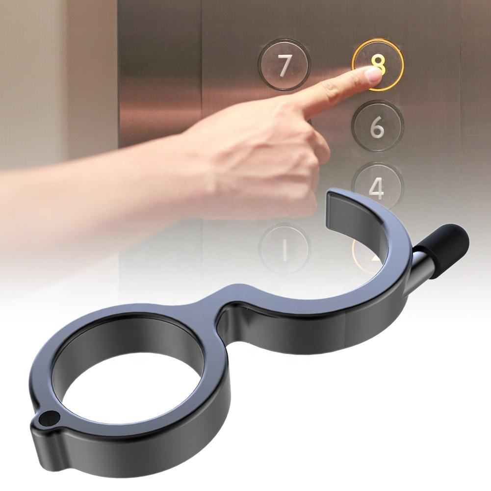Keep Your Hand On The Door Handle To Avoid Contact With The Keychain