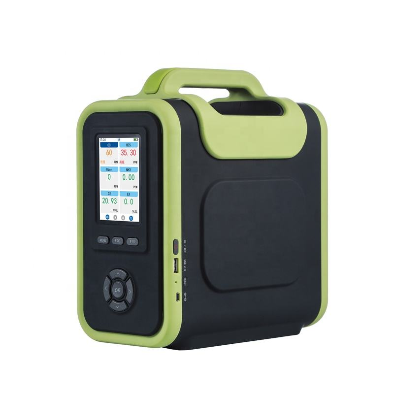Portabel HC Co CO2 O2 NOx Detektor Gas Harga Analyzer