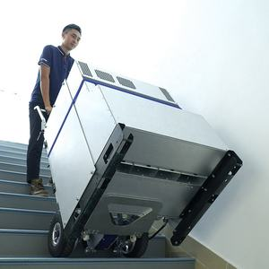 China CE approve aluminum Lithium brake 200kg stair climbing hand truck powered stair climber