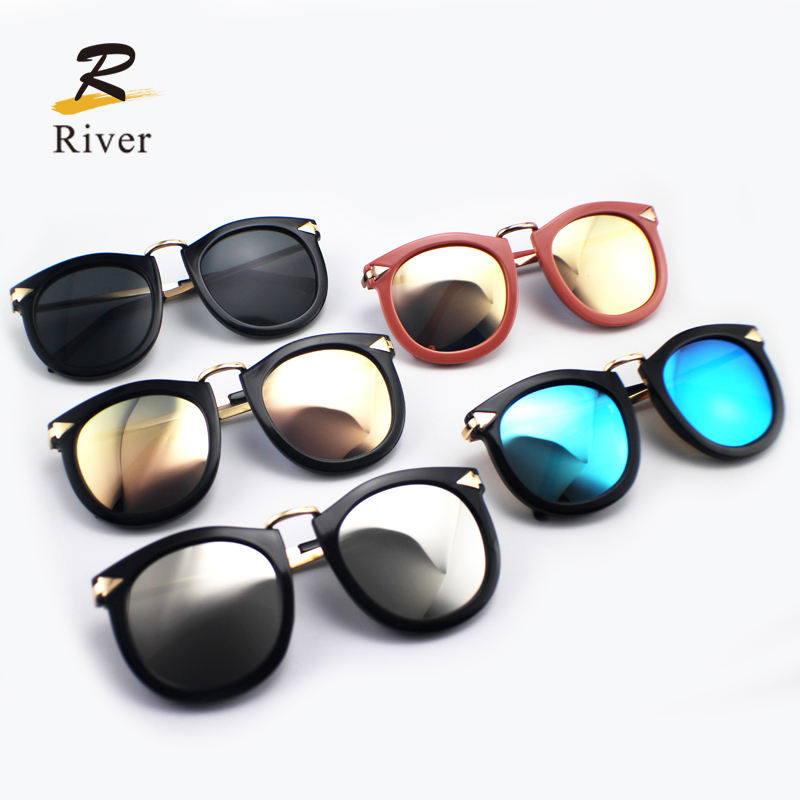 Italy design cheap popular PC colored frame polarized Sunglasses