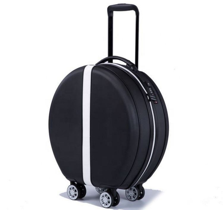 Custom Made Luggage Bags Travel Trolley Luggage/High Quality Travel Trolley 4 Wheels ABS PC Hard TSA Lock Plastic Trolley Bag