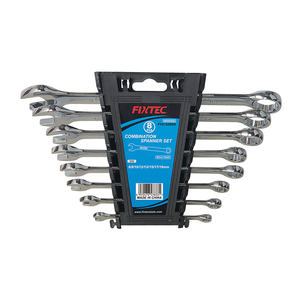 Fixtec Ratchet Ring Combination Spanner Wrench Set