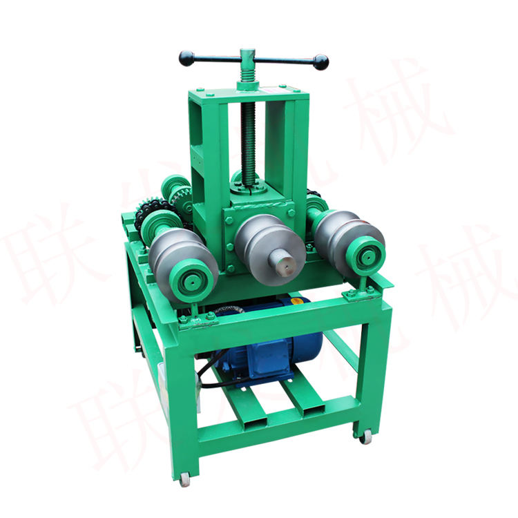 CA-129 Electric rolling pipe bender machine,tube bending machine three roller bending machine