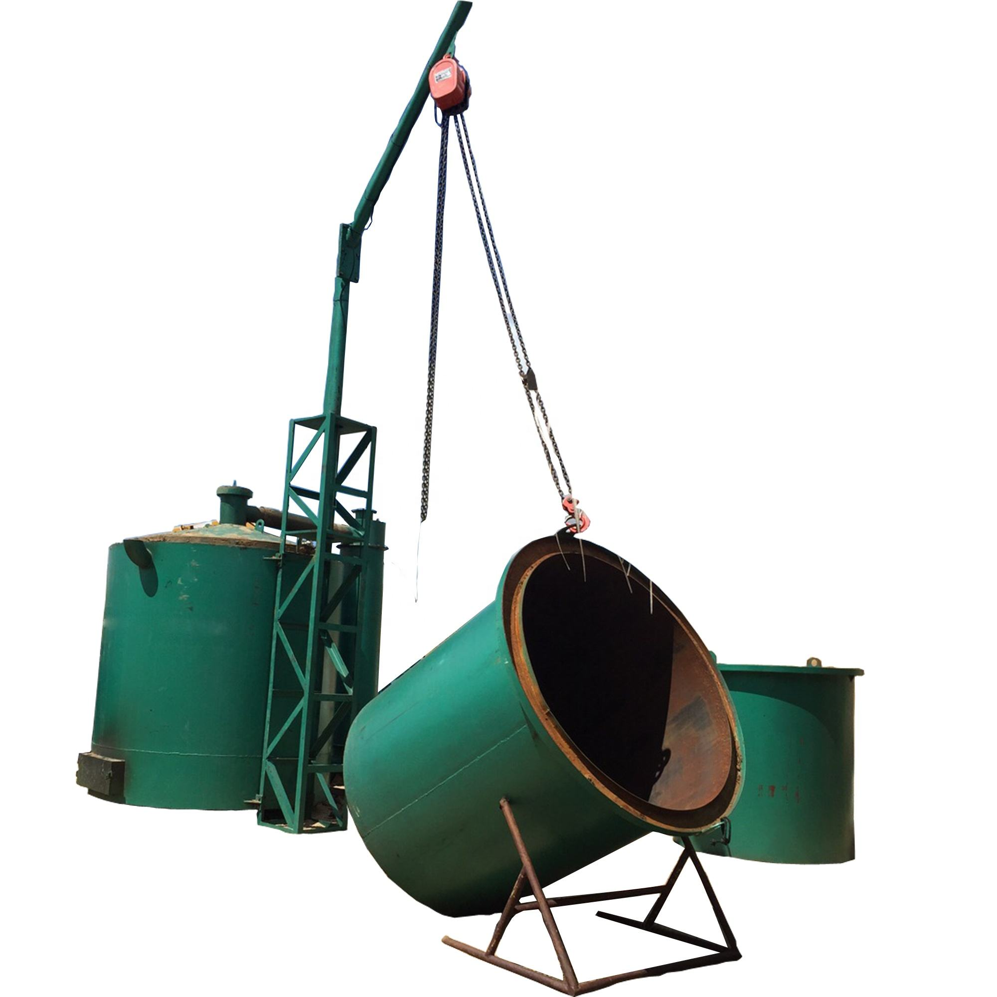 South Africa Namibia lump wood charcoal making machine price