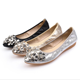 2020 New water brick single shoe ballerina flat outdoor women's flat shoes