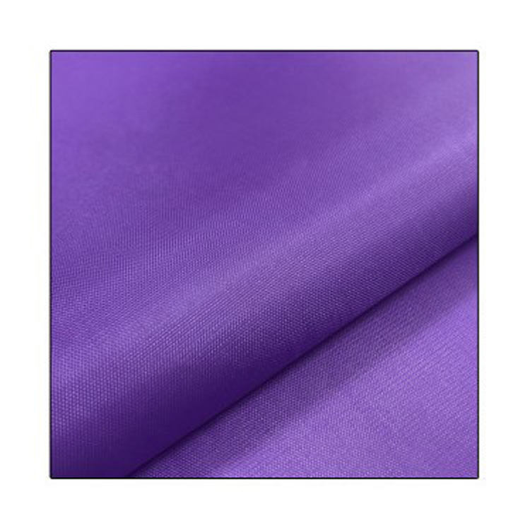 Polyester Nylon 210D 420D 600D 1680D Oxford Fabric Purple Tear- Resistant Bag Material for Backpack Cosmetic Bag Table Cloth