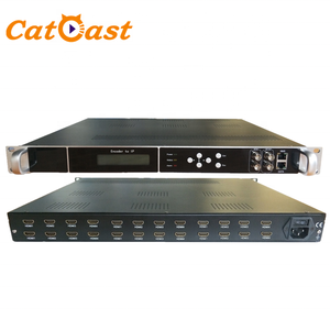 24 in 1 H.264 HDMI to IP IPTV Live Streaming Video Encoder