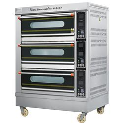 3 decks 6 trays Luxurious Commercial Electric Oven with Micro-computer Control Panel