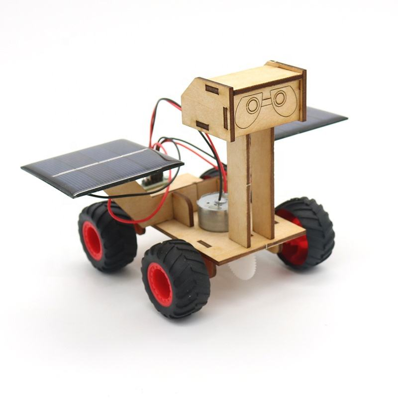 kids educational DIY solar power wall-e solar toys robot