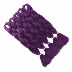 """Factory Wholesale 100g 24"""" more colors ombre colored synthetic jumbo braiding hair ombre braiding hair"""