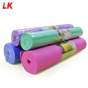 Groothandel Custom Gedrukt Eco Gymnastiek Sticky Antislip Pilates Fitness Tpe Yoga Mats