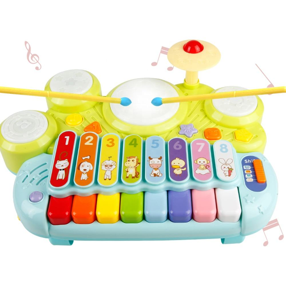 preschool education instrument combination piano electric organ lovely xylophone music toy
