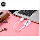1PCS 3 Ports USB 2.0 Hub High Speed Extension Splitter for Macbook Laptop PC Computer Charger For Windows 10/ 8/ 7/ Vista