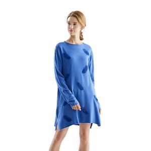 Roma Italie Dames Vêtements D'hiver Pull Robes Longues Femmes Broderie Pull