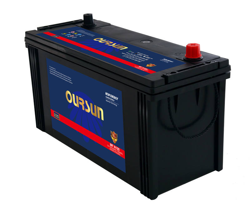 Hot Selling Car Battery Maintenance Free for 12V N100