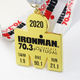 Cheap Custom Metal Sports Gold Plaques Ironman Triathlons Medals