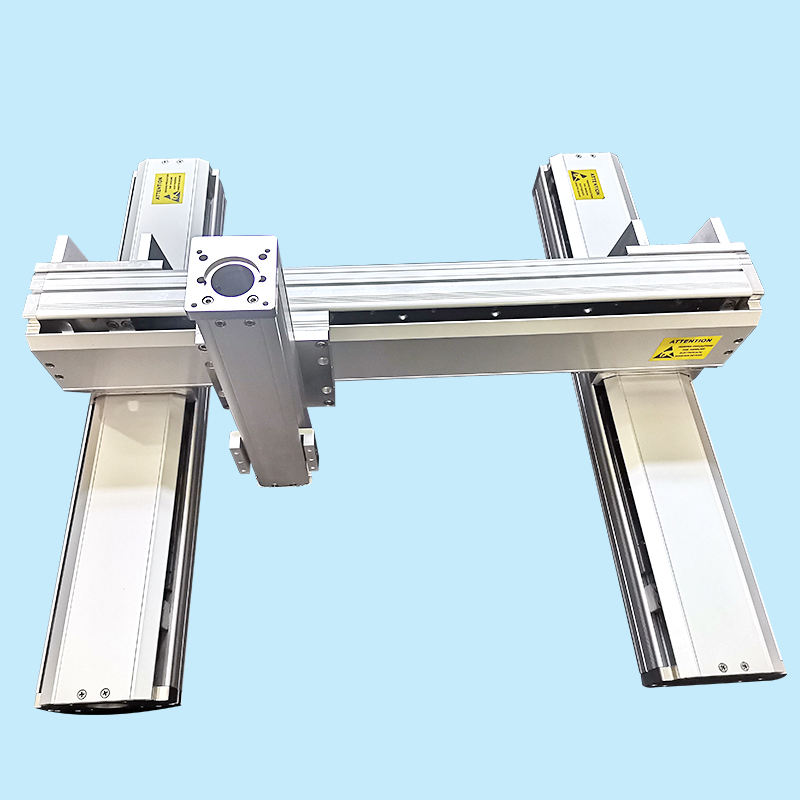 Low cost 500mm-2000mm stroke 3 axis gantry robot xy motorized linear motion stage