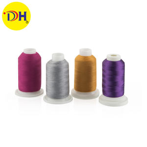 factory supplier differfent color OEM 100% nylon material roll thread industrial sewing thread