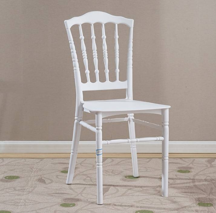 Fancy Plastic Chair White Banquet Hall Chairs Chaises Napoleon