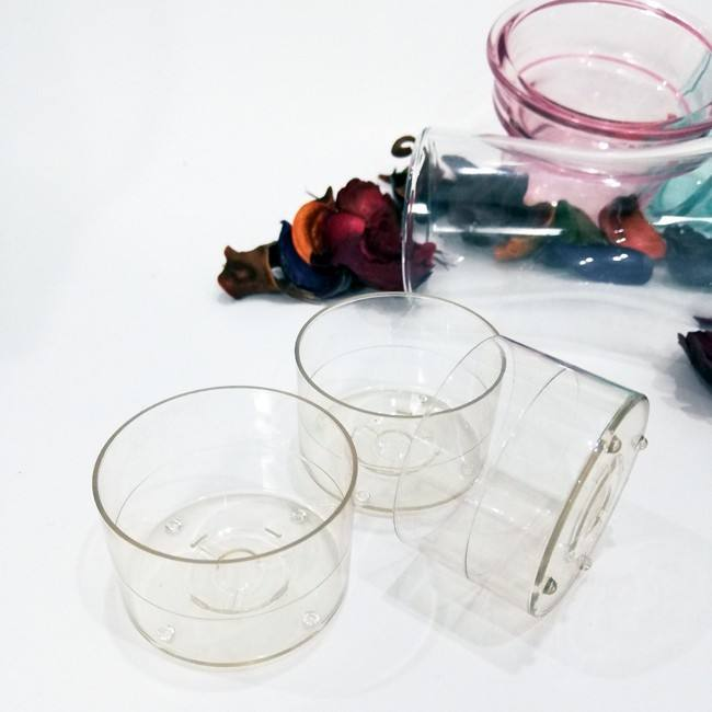 customized plastic votive tealight candle holders