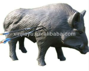 High quality 3D pig archery target boar shooting target for hunting training