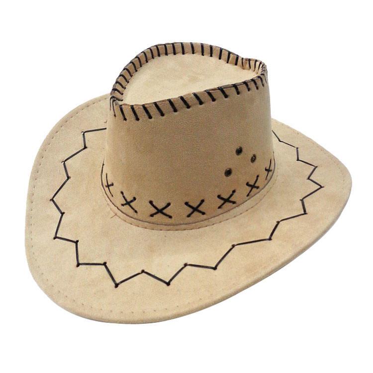 Best selling latest design classic style customized logo cowboy hats