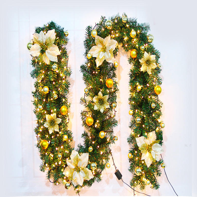 2020 Cheap Christmas Commercial Outdoor Garland LED Decoration