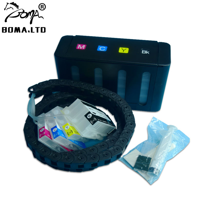 Bulk Ink System for HP Designjet T120 T520 HP711 inkjet printer for hp 711 120 520 Pigment Plotters Ciss System