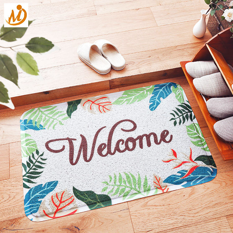 Non-slip Pvc Mat Hot-selling Non-slip Dusting Welcome Pvc Door Mat Customized Wholesale