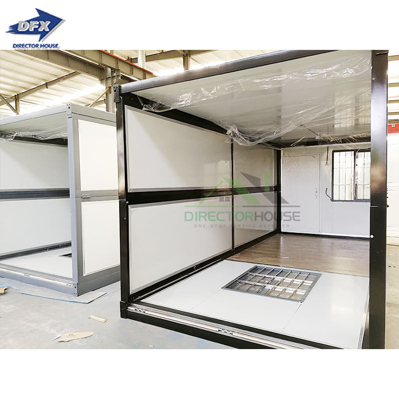mobile Folding Container house Van House For Office And cabins