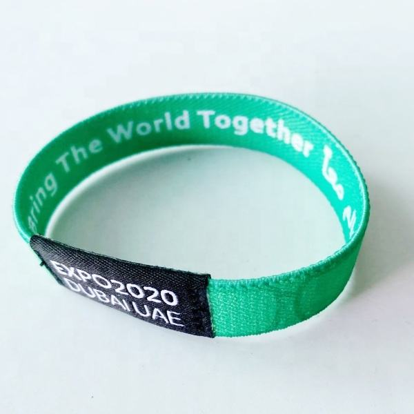 Cloth Expo 2020 wristband wholesale high quality wristband expo hot sell wristband