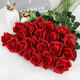 SA1545-1/2 New Amazon Hot Selling artificial rose Flowers Branches High Quality Wedding Decoration Flower Wholesale
