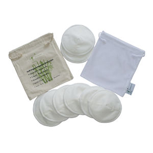 Customized Printed Gentle Soft Absorb Adult Nursing Breast Insert Pad for New Mom