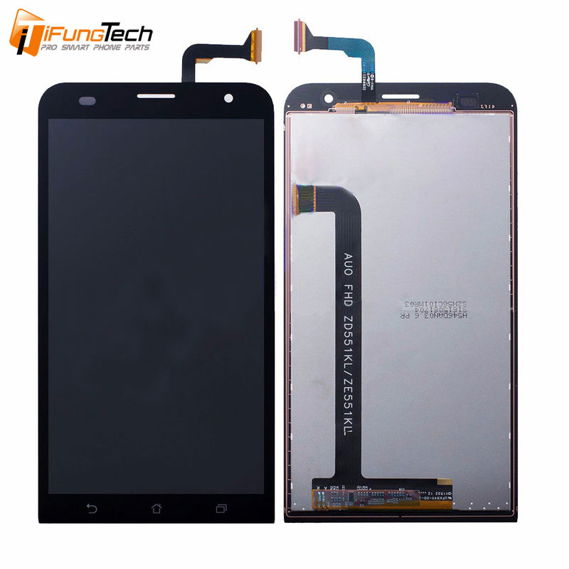 Lcd תצוגת Digitizer עצרת עבור Asus Zenfone ZE551KL Lcd עם מגע מסך עבור Asus ZenFone 2 לייזר ZE551KL החלפת חלקים