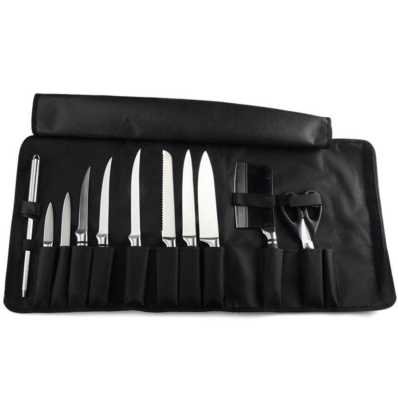 New Chef Oxford Tool Rolling Up Utensil Storage Roll Up Knife Bag Waterproof Picnic Travel Portable Utility Chefs knife Roll Bag